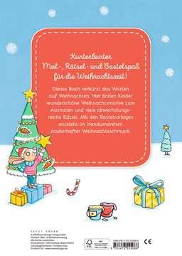 Malen - Rätseln - Basteln: Weihnachten Kinderbücher;Malbücher und Bastelbücher - Bild 3 - Ravensburger