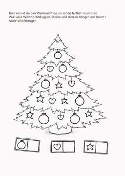 Malen - Rätseln - Basteln: Weihnachten Kinderbücher;Malbücher und Bastelbücher - Bild 5 - Ravensburger