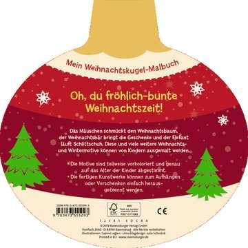 Mein Weihnachtskugel-Malbuch: Frohe Weihnachten Kinderbücher;Malbücher und Bastelbücher - Bild 3 - Ravensburger