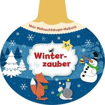 55510 Malbücher und Bastelbücher Mein Weihnachtskugel-Malbuch: Winterzauber von Ravensburger 1