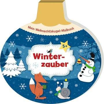55510 Malbücher und Bastelbücher Mein Weihnachtskugel-Malbuch: Winterzauber von Ravensburger 2
