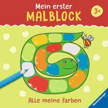 55512 Malbücher und Bastelbücher Mein erster Malblock: Alle meine Farben von Ravensburger 1