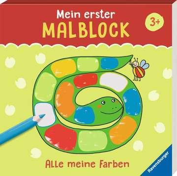 55512 Malbücher und Bastelbücher Mein erster Malblock: Alle meine Farben von Ravensburger 2