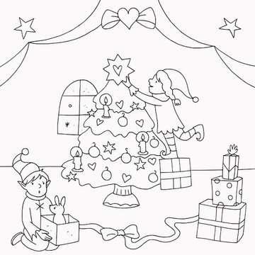 55513 Malbücher und Bastelbücher Meine schönsten Bilder: Weihnachten von Ravensburger 5
