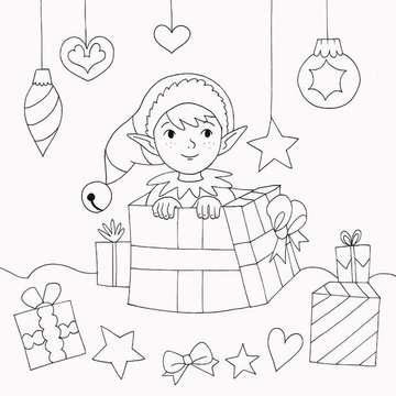 55513 Malbücher und Bastelbücher Meine schönsten Bilder: Weihnachten von Ravensburger 6