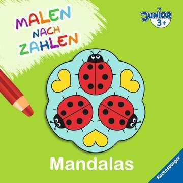 55522 Malbücher und Bastelbücher Malen nach Zahlen junior: Mandalas von Ravensburger 1