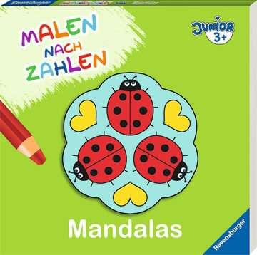 55522 Malbücher und Bastelbücher Malen nach Zahlen junior: Mandalas von Ravensburger 2