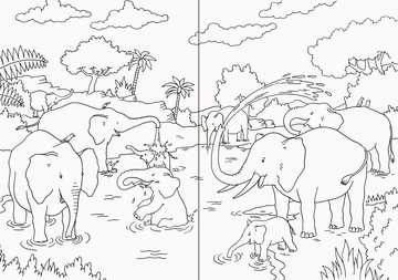 Mein superdickes Tiermalbuch Kinderbücher;Malbücher und Bastelbücher - Bild 4 - Ravensburger