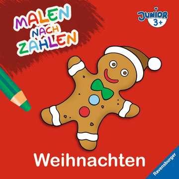55527 Malbücher und Bastelbücher Malen nach Zahlen junior: Weihnachten von Ravensburger 1