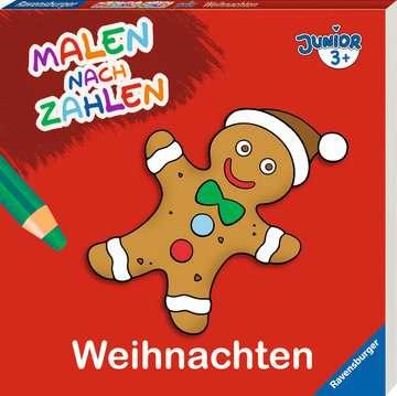 55527 Malbücher und Bastelbücher Malen nach Zahlen junior: Weihnachten von Ravensburger 2