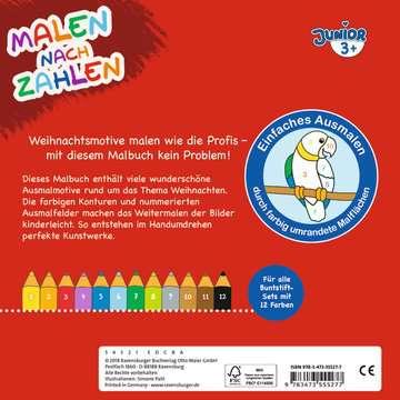 55527 Malbücher und Bastelbücher Malen nach Zahlen junior: Weihnachten von Ravensburger 3