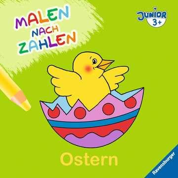 55530 Malbücher und Bastelbücher Malen nach Zahlen junior: Ostern von Ravensburger 1