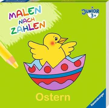 55530 Malbücher und Bastelbücher Malen nach Zahlen junior: Ostern von Ravensburger 2