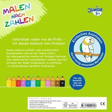 55530 Malbücher und Bastelbücher Malen nach Zahlen junior: Ostern von Ravensburger 3