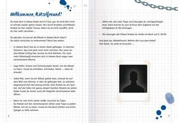 55553 Lernbücher und Rätselbücher Ravensburger Exit Room Rätsel: Gefangen im Hotel von Ravensburger 4