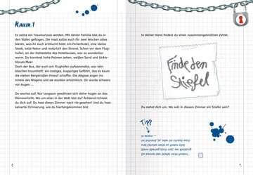 Ravensburger Exit Room Rätsel: Gefangen im Hotel Kinderbücher;Lernbücher und Rätselbücher - Bild 5 - Ravensburger