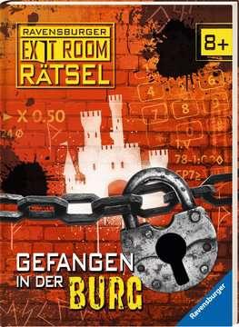 55554 Lernbücher und Rätselbücher Ravensburger Exit Room Rätsel: Gefangen in der Burg von Ravensburger 2