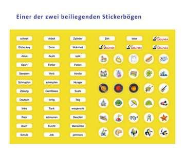 Sticker Kreuzworträtsel Zum Lesenlernen 3 Lesestufe Lernbücher