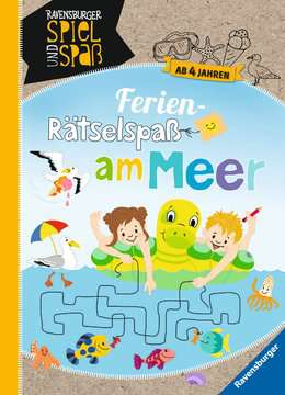 Ferien-Rätselspaß am Meer Kinderbücher;Lernbücher und Rätselbücher - Bild 1 - Ravensburger