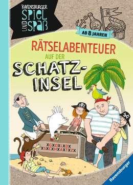 55581 Lernbücher und Rätselbücher Rätselabenteuer auf der Schatzinsel von Ravensburger 1