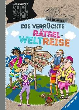 Die verrückte Rätsel-Weltreise Kinderbücher;Lernbücher und Rätselbücher - Bild 1 - Ravensburger