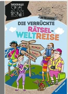 55582 Lernbücher und Rätselbücher Die verrückte Rätsel-Weltreise von Ravensburger 2