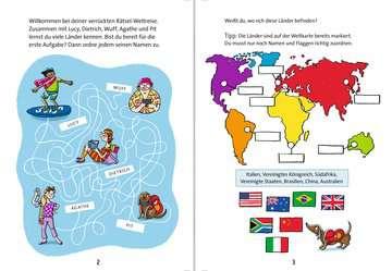 Die verrückte Rätsel-Weltreise Kinderbücher;Lernbücher und Rätselbücher - Bild 4 - Ravensburger
