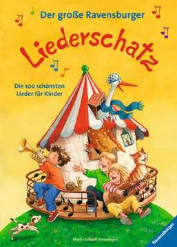 55622 Lernbücher und Rätselbücher Der große Ravensburger Liederschatz von Ravensburger 1