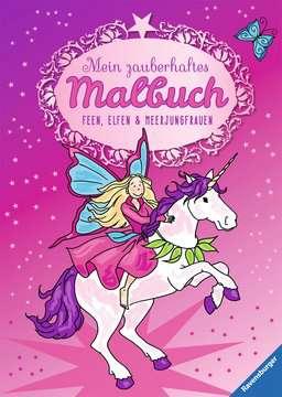 Mein zauberhaftes Malbuch: Feen, Elfen und Meerjungfrauen Kinderbücher;Malbücher und Bastelbücher - Bild 1 - Ravensburger