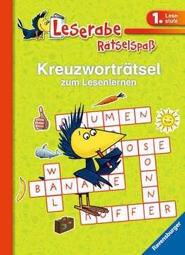 55674 Lernbücher und Rätselbücher Kreuzworträtsel zum Lesenlernen (1. Lesestufe), grün von Ravensburger 1