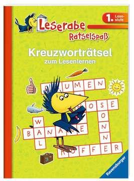 55674 Lernbücher und Rätselbücher Kreuzworträtsel zum Lesenlernen (1. Lesestufe), grün von Ravensburger 2