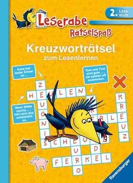 55676 Lernbücher und Rätselbücher Kreuzworträtsel zum Lesenlernen (2. Lesestufe) von Ravensburger 1