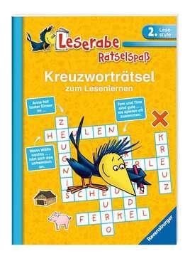 55676 Lernbücher und Rätselbücher Kreuzworträtsel zum Lesenlernen (2. Lesestufe) von Ravensburger 2