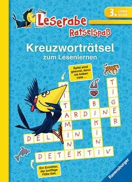 55677 Lernbücher und Rätselbücher Kreuzworträtsel zum Lesenlernen (3. Lesestufe) von Ravensburger 1