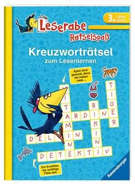 55677 Lernbücher und Rätselbücher Kreuzworträtsel zum Lesenlernen (3. Lesestufe) von Ravensburger 2