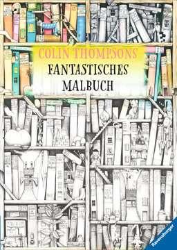 55680 Malbücher und Bastelbücher Colin Thompsons Fantastisches Malbuch von Ravensburger 1