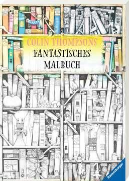 55680 Malbücher und Bastelbücher Colin Thompsons Fantastisches Malbuch von Ravensburger 2
