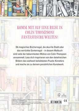 55680 Malbücher und Bastelbücher Colin Thompsons Fantastisches Malbuch von Ravensburger 3