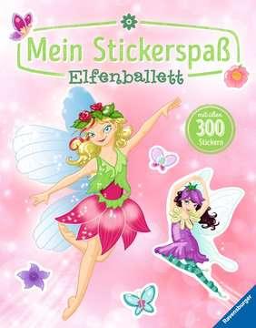 55735 Malbücher und Bastelbücher Mein Stickerspaß: Elfenballett von Ravensburger 1