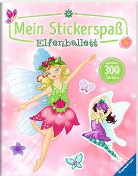55735 Malbücher und Bastelbücher Mein Stickerspaß: Elfenballett von Ravensburger 2