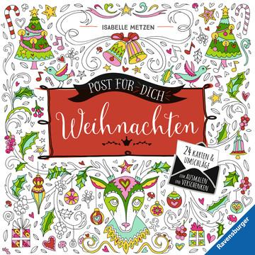 Post für dich! Weihnachten Kinderbücher;Malbücher und Bastelbücher - Bild 1 - Ravensburger