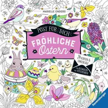 Post für dich! Fröhliche Ostern Kinderbücher;Malbücher und Bastelbücher - Bild 1 - Ravensburger