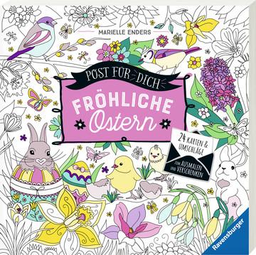 Post für dich! Fröhliche Ostern Kinderbücher;Malbücher und Bastelbücher - Bild 2 - Ravensburger