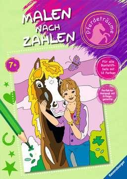 55776 Malbücher und Bastelbücher Malen nach Zahlen: Pferdeträume von Ravensburger 1
