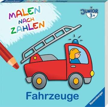 55778 Malbücher und Bastelbücher Malen nach Zahlen junior: Fahrzeuge von Ravensburger 2