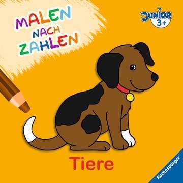 Malen nach Zahlen junior: Tiere Kinderbücher;Malbücher und Bastelbücher - Bild 1 - Ravensburger