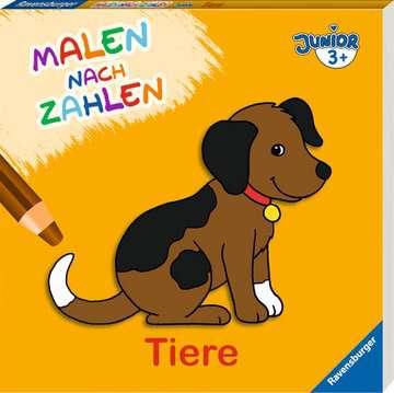 Malen nach Zahlen junior: Tiere Kinderbücher;Malbücher und Bastelbücher - Bild 2 - Ravensburger