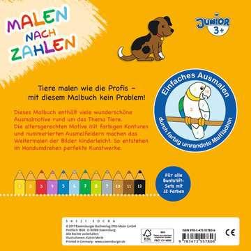 55780 Malbücher und Bastelbücher Malen nach Zahlen junior: Tiere von Ravensburger 3