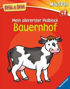 Mein allererster Malblock: Bauernhof Kinderbücher;Malbücher und Bastelbücher - Bild 1 - Ravensburger