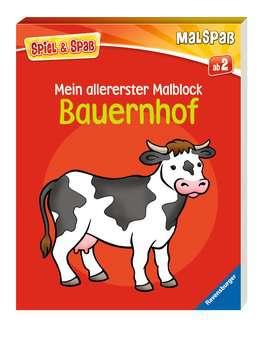 55789 Malbücher und Bastelbücher Mein allererster Malblock: Bauernhof von Ravensburger 2